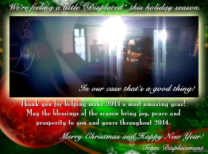 DisplacementChristmasCard